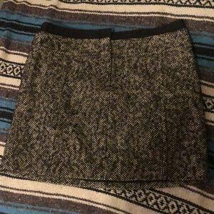Wool mini skirt from Loft, size 14